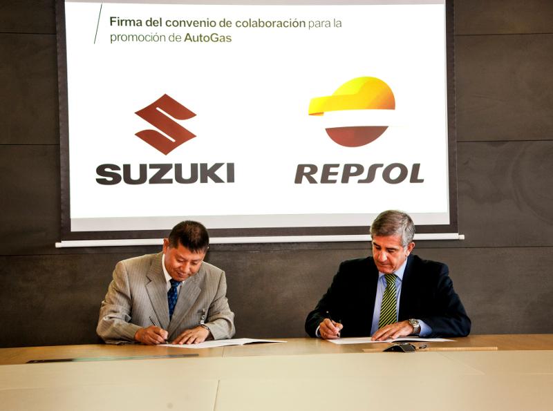 Suzuki y Repsol firman un acuerdo para impulsar el gas GLP en España