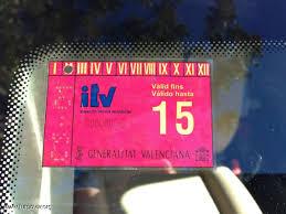 Nueva tarjeta de Inspección Técnica de Vehículos (ITV) para el 2015