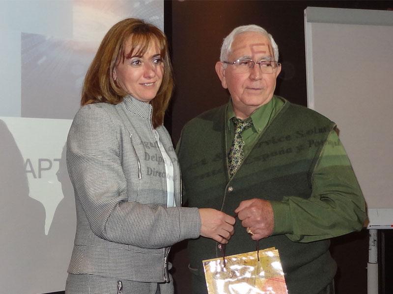 Homenaje a Jose Luis Cuenca, fundador de Talleres Cuenca